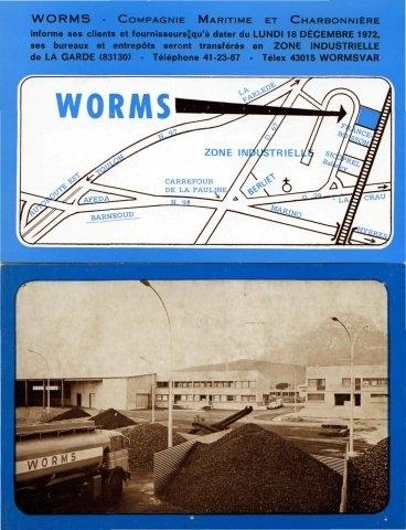 Prospectus Worms CMC Toulon - La Garde