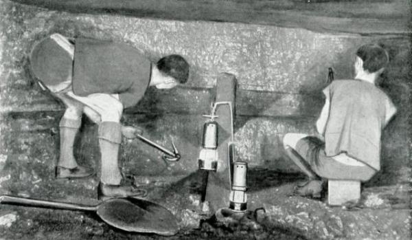 Lambton - mineurs au travail