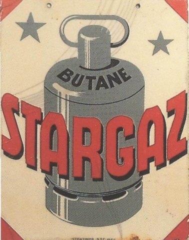 Enseigne Butane Stargaz