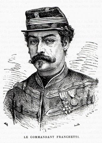 Commandant Léon Joseph Franchetti (1834-1870)