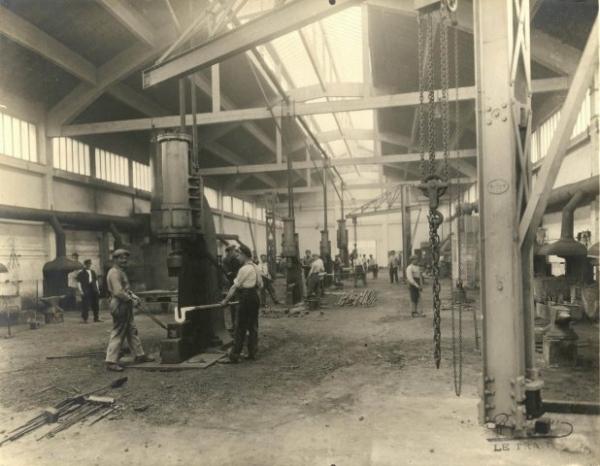 Les ateliers de construction