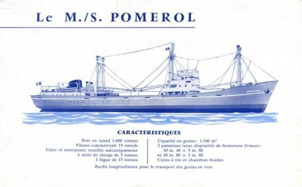 """Dépliant de Worms CMC - mise en service de """"Pomerol"""" (page 2)"""