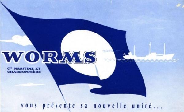 """Dépliant de Worms CMC - mise en service de """"Pomerol"""""""