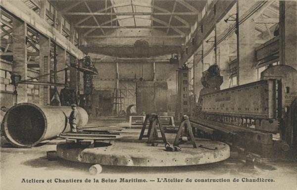 Les ateliers de construction de chaudières