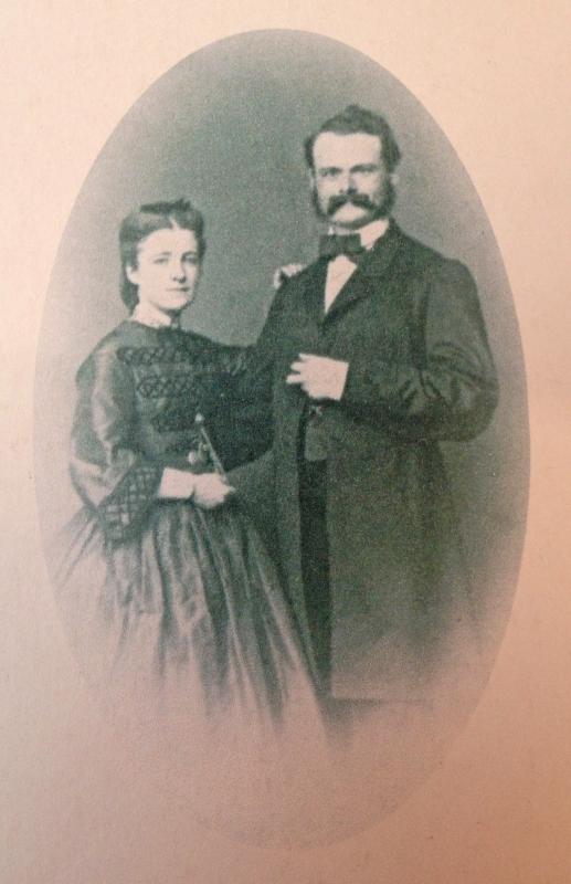 Georges Schacher et son épouse