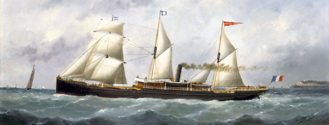 "Steamer ""Hypolite-Worms"" - 1882-1924"
