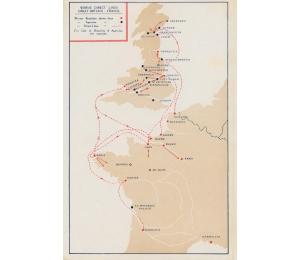 Dépliant en anglais des Services maritimes Worms & Cie (page 2)