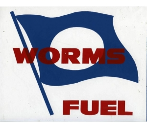 Autocollant Worms Fuel