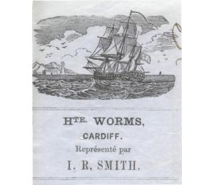 En-tête au nom de Hte Worms Cardiff