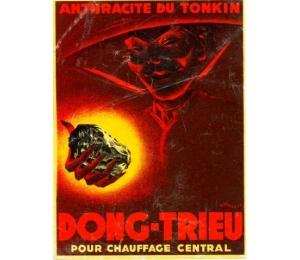 """Affiche - """"Anthracite du Tonkin"""""""