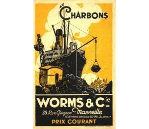 Dépliant des Services combustibles Worms & Cie (page 1)