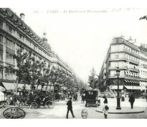 Paris - boulevard Haussmann