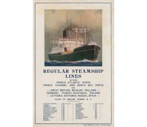 Dépliant en anglais des Services maritimes Worms & Cie (page 4)